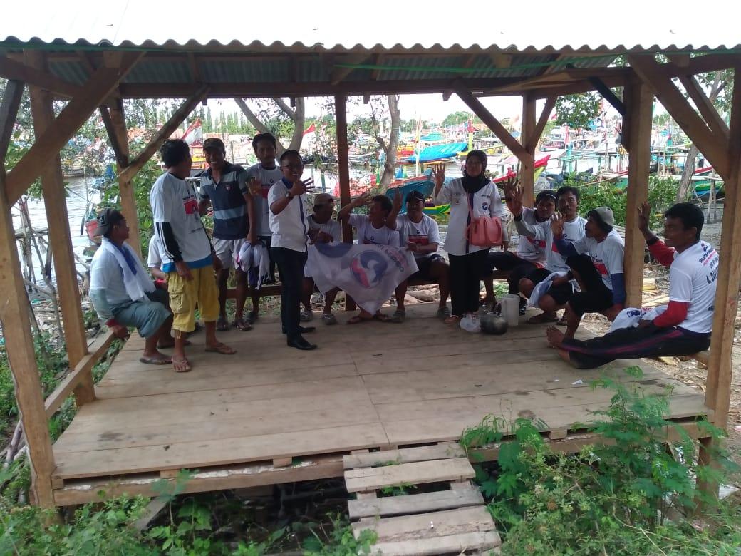 Deklarasi Dukungan Nelayan Pejarakan Kepada Caleg Perindo David Santosa Dan Sri Vani Hidayati Kabupaten Pemalang