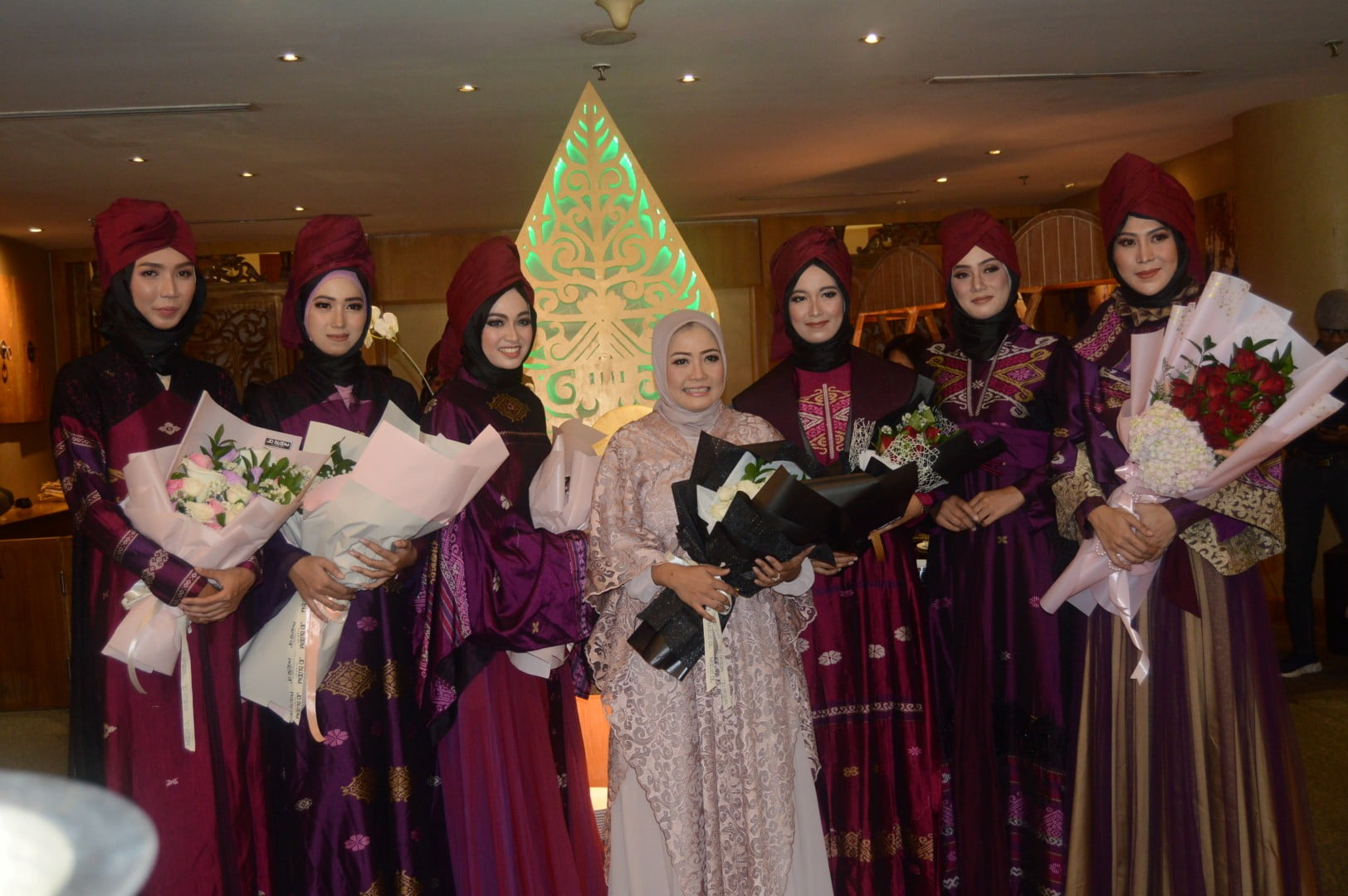 Photo of SAMBUT BULAN RAMADHAN  FASHION & LUNCHEON TAMPILKAN KOLEKSI BAJU MUSLIM BILQIS BY TUTY ADIB