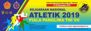 KOMI Gelar Kejurnas Atletik Piala Panglima TNI VII di AAU