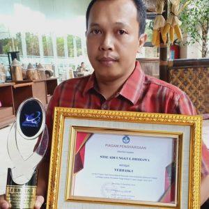 Meraih Penghargaan Pengelolaan Program Studi Terbaik Jawa Tengah. Agus Utomo: Tanggung Jawab Perguruan Tinggi Pada Masyarakat