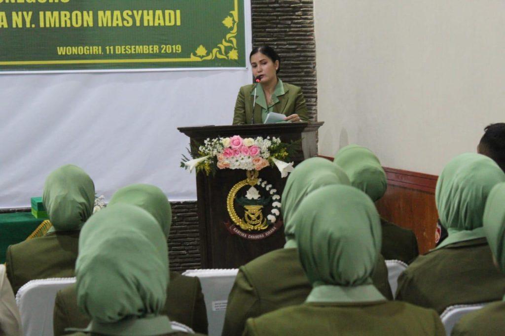 Lisa Rafael Granada Baay Pimpin Sertijab Ketua Persit KCK Cab XLIX Dim 0728
