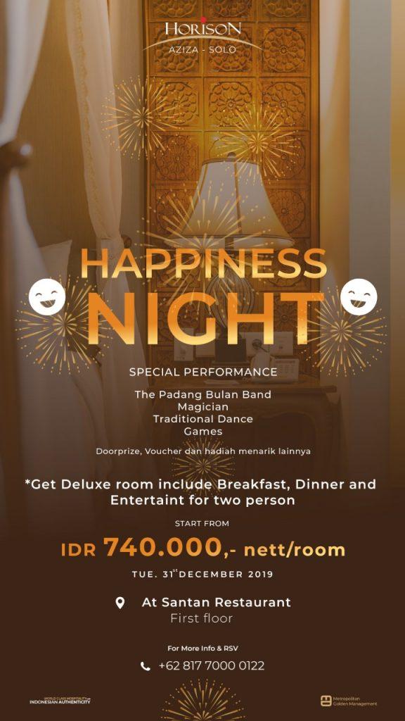 Happiness Night, Moment Liburan Akhir Tahun di Horison Aziza Solo