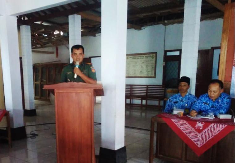 Kapten Agus Priyanto : Kedes Yang Baru Harus Bersinergi Dengan Babinsa Dan Bhabinkamtibmas Wujudkan Kondusifitas Desa