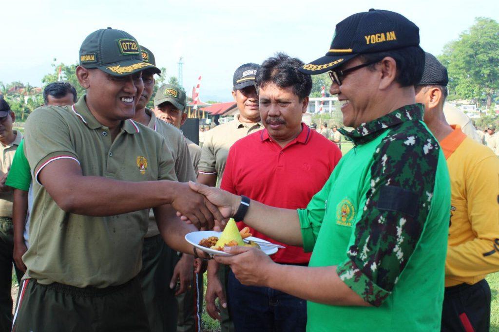 Dandim 0728/Wonogiri Pimpin Apel Bersama Hari Juang TNI-AD Dan Hari Infanteri Ke-71 Tahun 2019