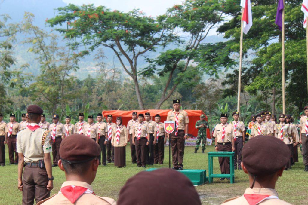 Dandim Wonogiri Resmi Melantik 155 Anggota Saka Wira Kartika Angkatan VI