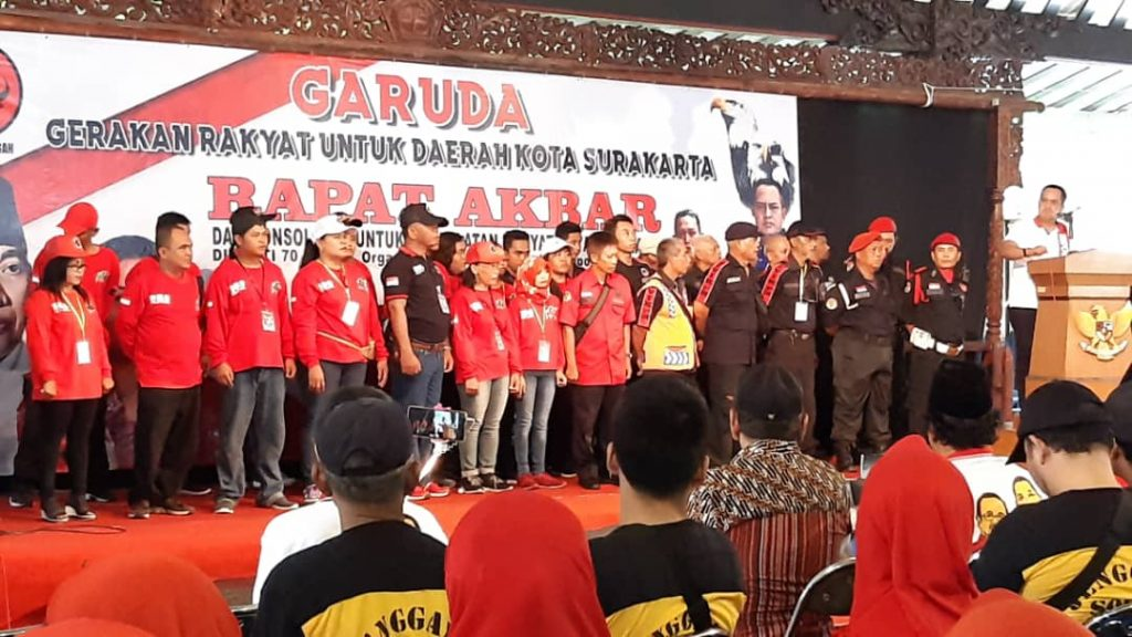 Ribuan Elemen Garuda Deklarasi Dukungan Purnomo -Teguh