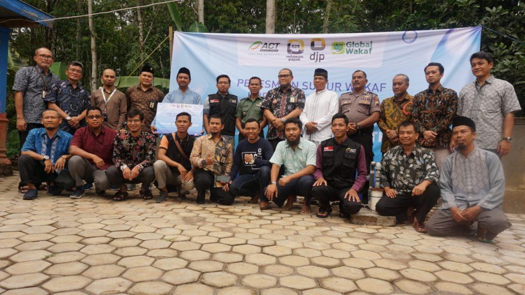 ACT Bangun Sumur Wakaf di Klaten, Upaya Penangulangan Bencana Kekeringan di Musim Kemarau