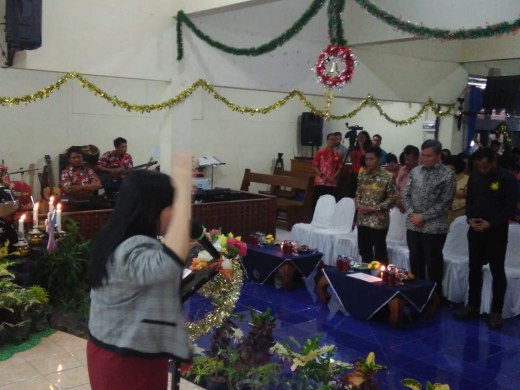 Umat Kristiani Lanud Adi Soemarmo, Depohar 50 dan GPP 4 Peringati Natal Bersama
