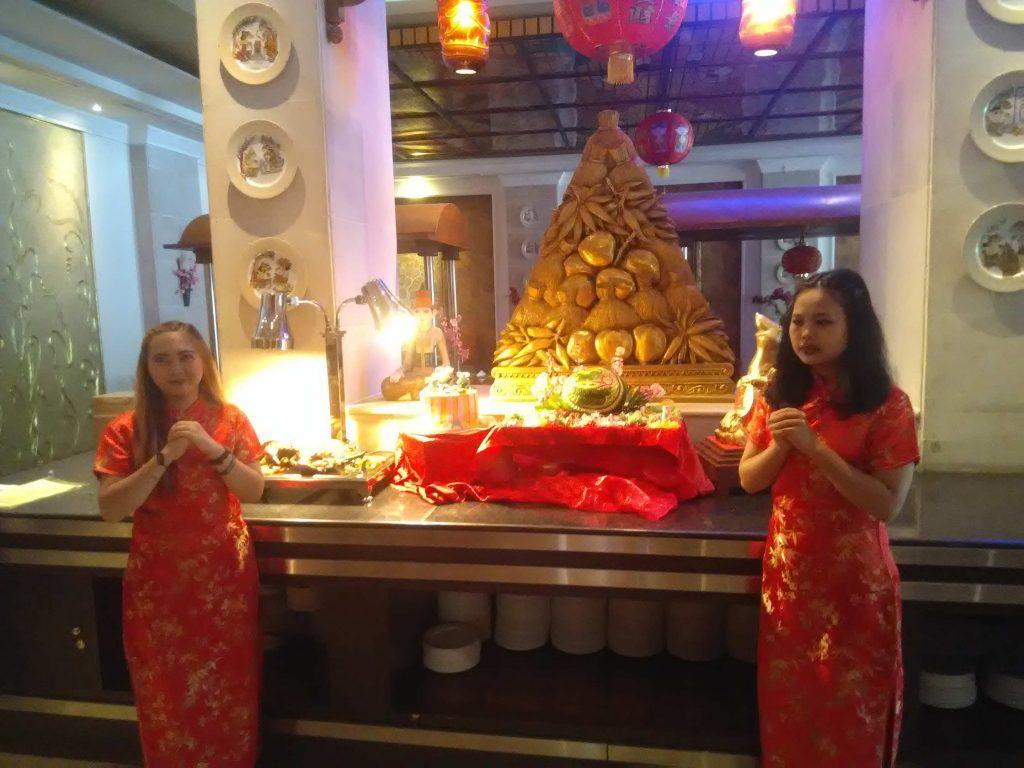 Hangatkan Tahun Baru Imlek , Andrawina Sajikan Oriental Menu All You Can Eat