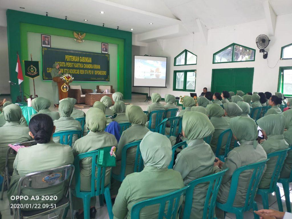 Pertemuan Gabungan Persit KCK Cabang L Kodim 0735 Surakarta, Sarana Pererat Tali Silahturahmi