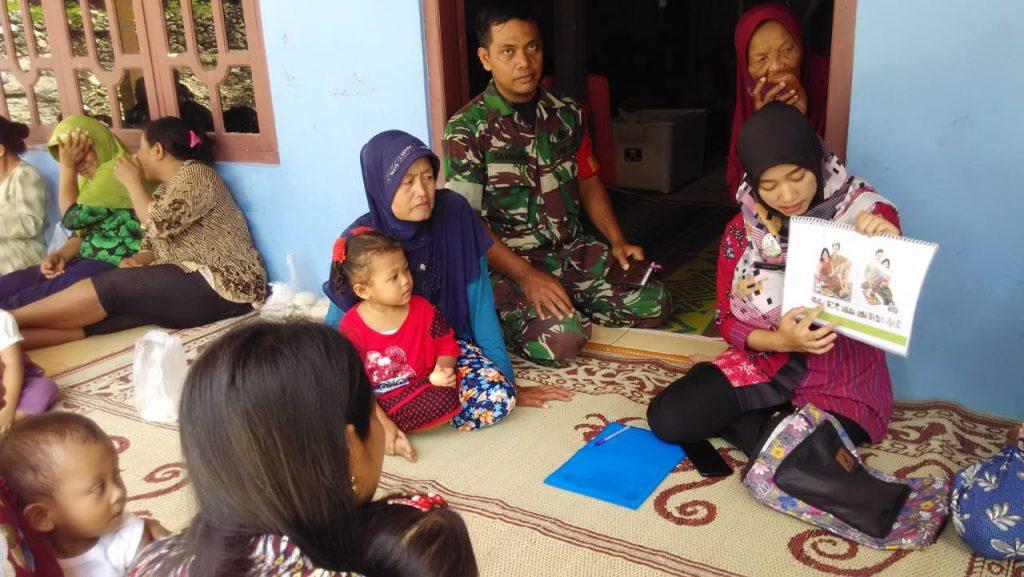 Sertu Sambudi : Pentingnya Penyuluhan Kesehatan Bagi Warga Masyarakat