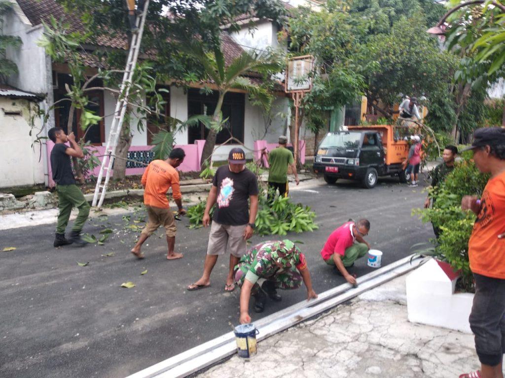 """Sertu Suryanto, Semangat Gotong Royong wujudkan Slogan Kota Solo   """" Berseri """""""