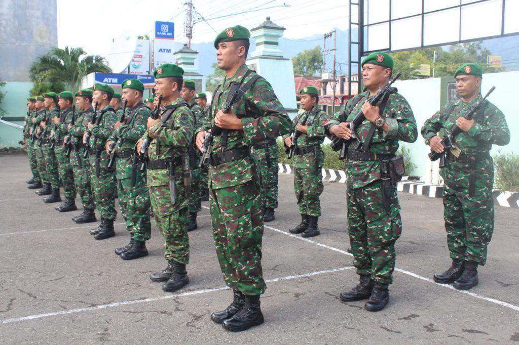 Tingkatkan Disipln Dan Kemampuan Prajurit Melalui Minggu Militer