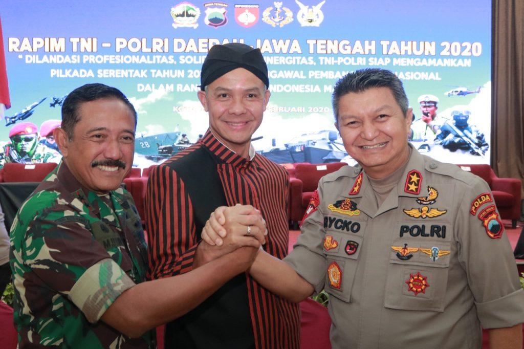 TNI-POLRI Siap Sukseskan Pilkada Serentak 2020