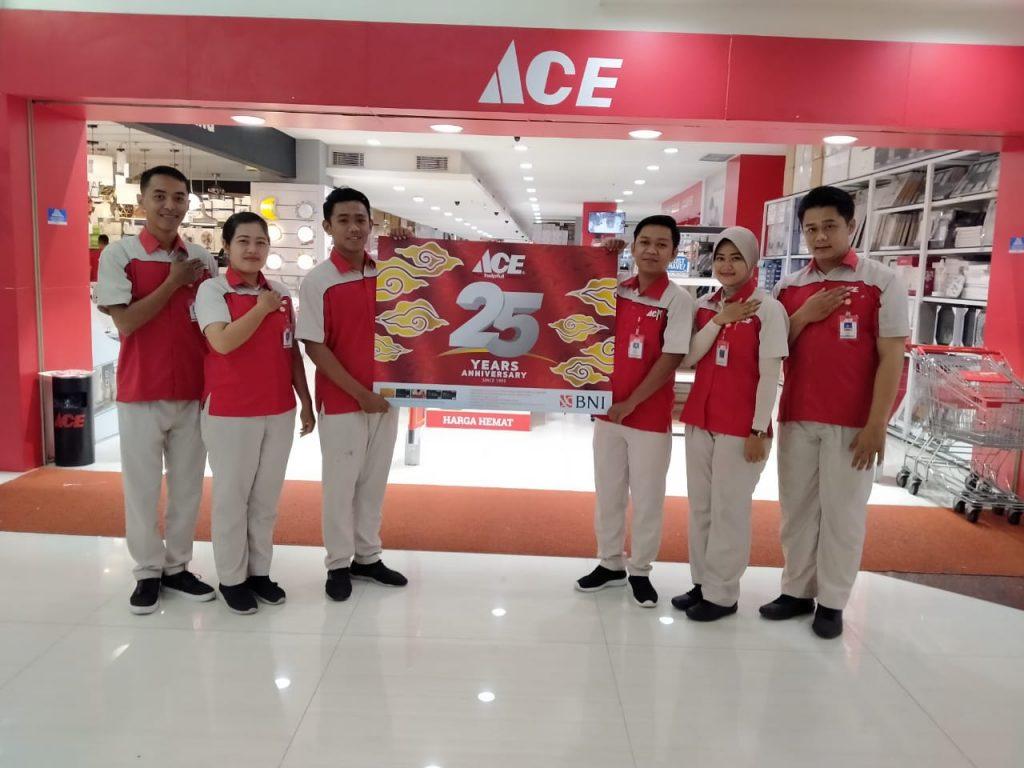 25 TAHUN HADIR DI INDONESIA, ACE KONSISTEN HADIRKAN LAYANAN KEMUDAHAN PELANGGAN