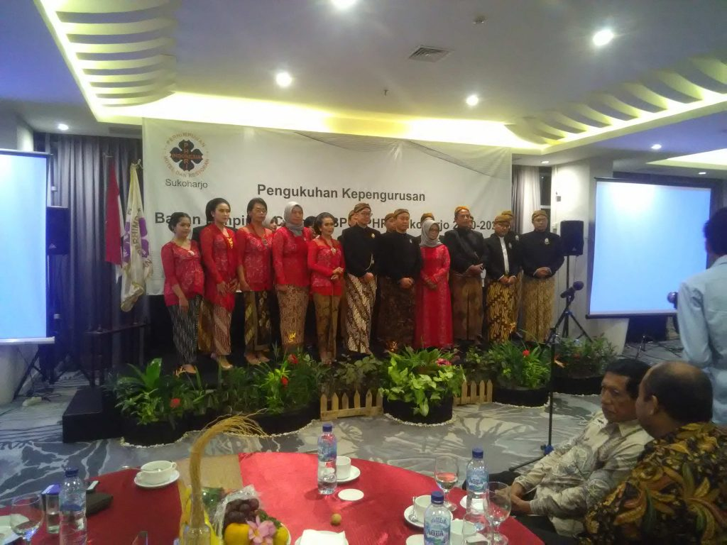 PHRI Gelar Pengukuhan dan Pelantikan BPC PHRI Sukoharjo