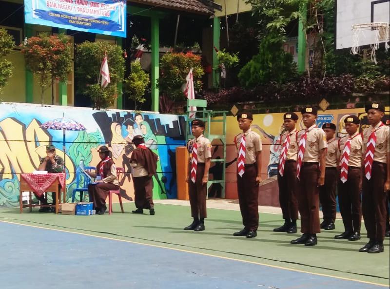 Ratusan Pelajar Dari Tiga Kecamatan Ikuti Lomba PBB, TNI Di Utus Sebagai Dewan Juri