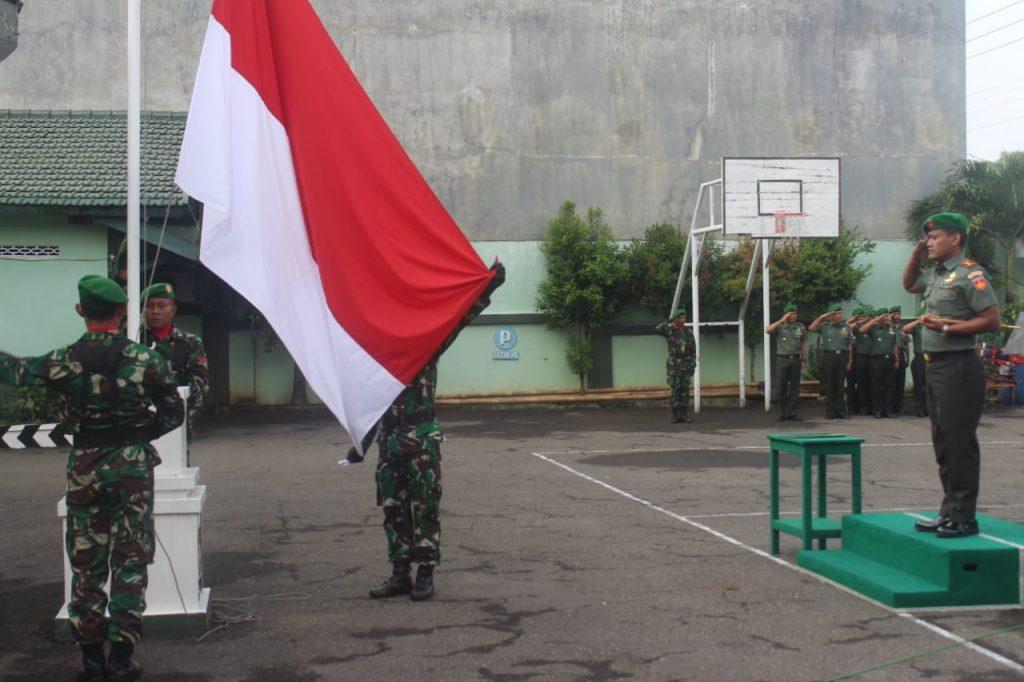Upacara Bendera Memupuk Jiwa Kejuangan, Patriotisme Dan Solidaritas Para Prajurit