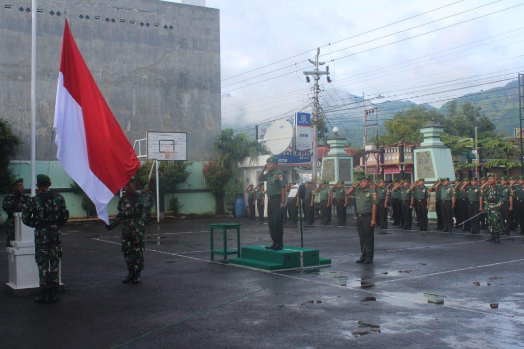 Pesan Kasdim 0728/Wonogiri Dalam Upacara Bendera