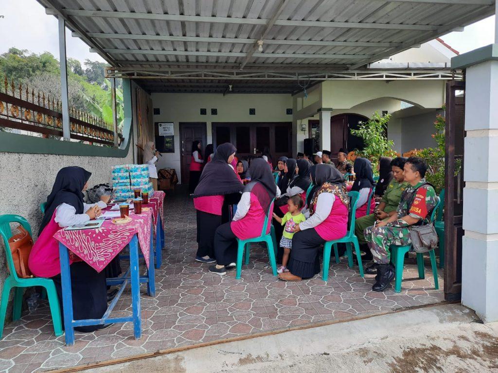Babinsa Kelurahan Kadipiro Hadiri Launching Pembukaan Posyandu Sehat Ceria