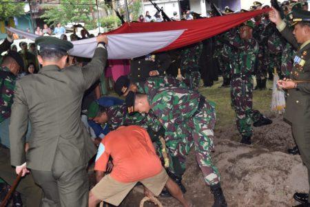 Pangdam IV Diponegoro Pimpin Upacara Pemakaman Militer Kolonel Kav Anumerta Bambang Kristianto Bawono,SIP