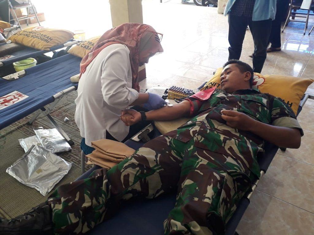 Peran Nyata Babinsa Dalam Kegiatan Donor Darah