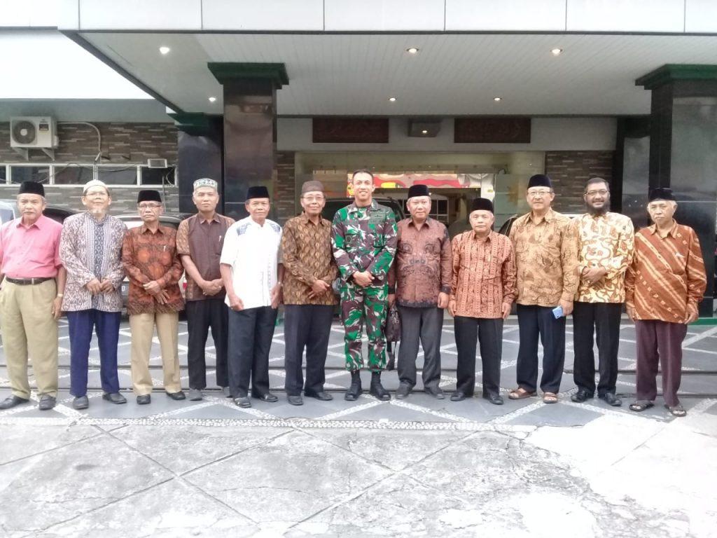 Apa Tujuan Dandim Solo Silaturahmi ke Balai Muhammadiyah Surakarta, Ini Jawabannya