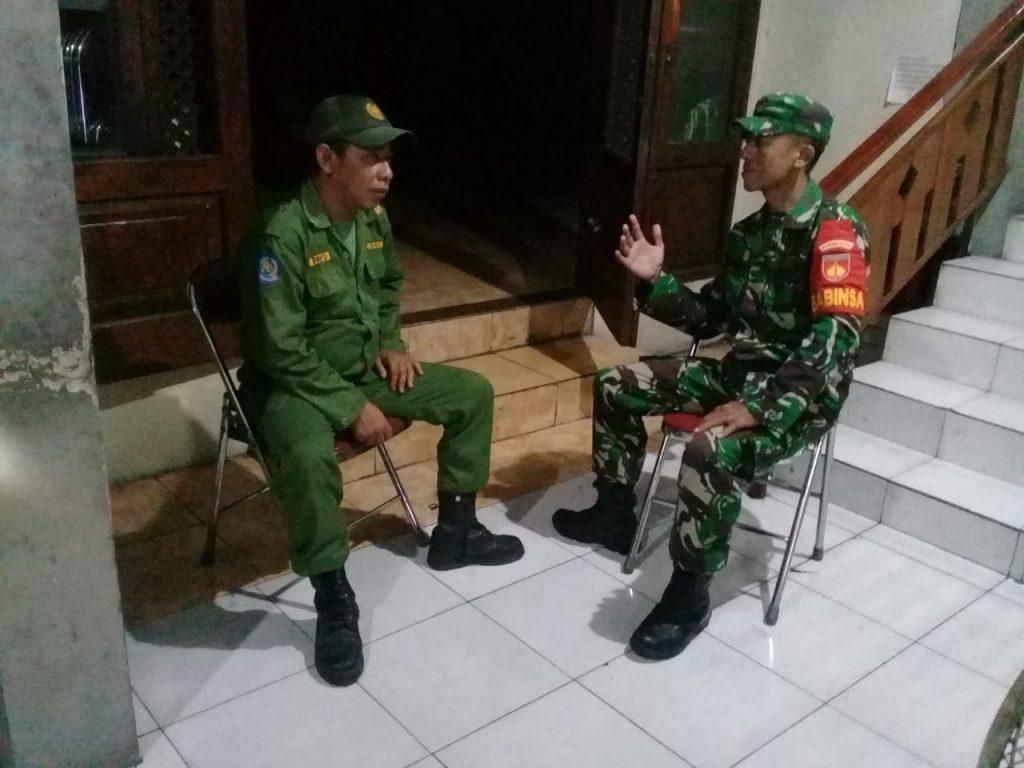 Koptu Sugiyanto, Patroli Untuk Jaga Kamtibmas dan Himbau Jangan Keluar Malam