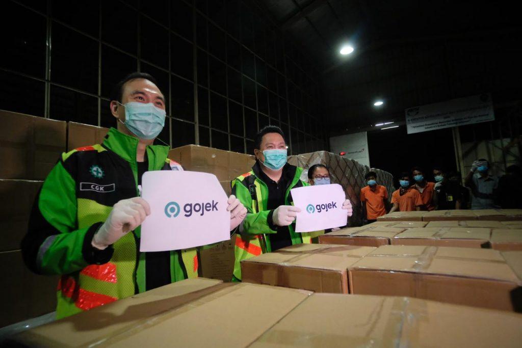 Gojek Impor 5 Juta Masker untuk Jaga Kesehatan dan Keselamatan Mitra Driver  dari Risiko Penyebaran Covid-19