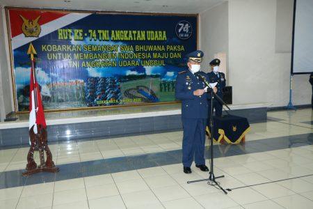 Kasau : Kobarkan semangat Swa Bhuwana Paksa untuk membangun Indonesia maju dan TNI Angkatan Udara unggul.