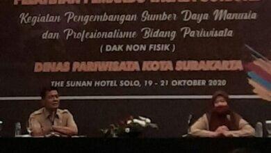 Photo of Dinas Pariwisata Surakarta Gelar Pelatihan Pemandu Wisata Outbond