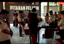 Photo of Pusdiklatcab Bhaga Cahkti Kota surakarta gelar Pitaran Pelatih