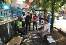 Photo of Peran Aktif Babinsa Kepatihan Wetan Dalam (AKB) Guna Menekan Penyebaran Covid 19