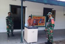 Photo of Babinsa Keprabon melaksanakan Kegiatan Cipta Kondisi AKB di Puro Mangkunegaran Surakarta