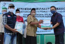 Photo of Ratusan Dhuafa dan Anak-Anak Yatim Mendapatkan Paket Sembako dari Askrindo Syariah