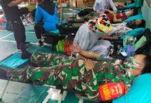 Photo of HUT PGRI ke 75 Ranting Kecamatan Jatipuro Gelar Donor Darah
