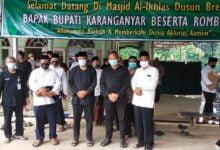 Photo of Bupati Dan Wakil Bupati Karanganyar Lakukan Sholat Wajib Dzuhur Berjamaah Keliling